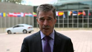 The Ukraine crisis - a wake-up call for Europe (NATO Secretary General