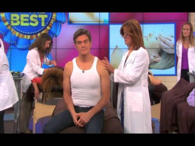 Dr. Oz - Acupuncture For Pain Reduction