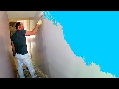 Peindre les murs dans l 39 escalier youtube - Peindre les escaliers ...
