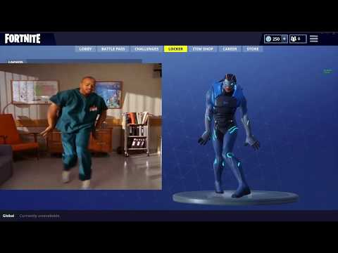 Fortnite Dance Scrubs Turk Side By Side Comparison - Basic Dance