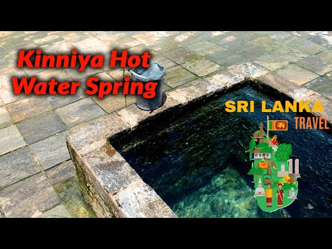 Kanniya Hot water spring Trincomalee