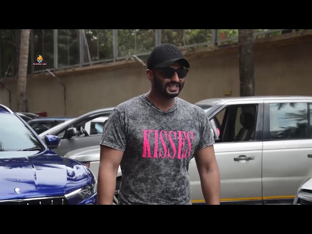 Arjun Kapoor snapped promoting his upcoming film India most wanted