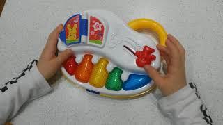 Пианино детское ???? Chicco ???? обзор игрушки развивающая музыкальная игрушка