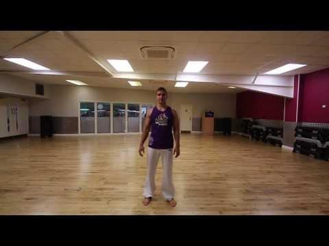 Capoeira - Queda de Rins com Ponte - Formado Gringo