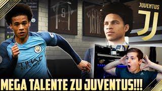 FIFA 18 Karrieremodus - TOPTALENT LEROY SANÉ zu Juventus Turin!? 🔥🔥 Karriere Deutsch