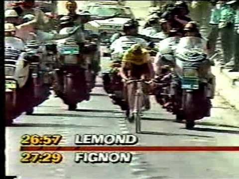 1989 Tour de France Final Time Trial - LONG VERSION - Greg Lemond - Laurent Fignon