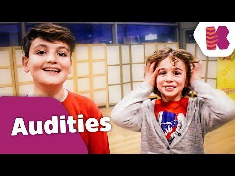 WIJ ZIJN DOOR! (Vlog 82 - Audities) - Kinderen voor Kinderen