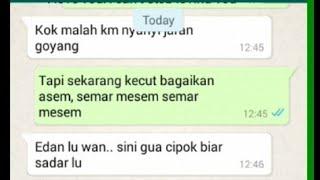 Text Prank Jaran Goyang | Malah Mau Di Cip*k