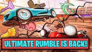 ULTIMATE ROCKET LEAGUE RUMBLE X100 IS BACK!