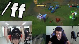 """Faker Tilted   Tarzaned Inting   Shiphtur: """"Free Win"""" - LoL Funny Stream Moments #169"""