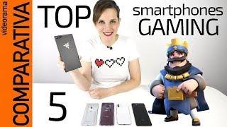 Top 5 móviles de Gaming -Razer, Galaxy, Xperia, iPhone, Pixel-