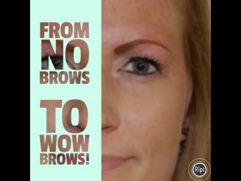 Powder brow cosmetic tattoo permanent makeup by carrie ann for Powder eyebrow tattoo