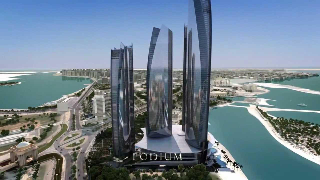 Etihad Towers Abu Dhabi Uae Unravel Travel Tv Property