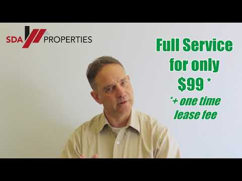 LANDLORDS | (Low as) $99 Flat Fee, FULL SERVICE Property Management