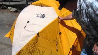 The North Face VE 25 Tent: Rain Fly & Vestibules - Summit Series Expedition Tent