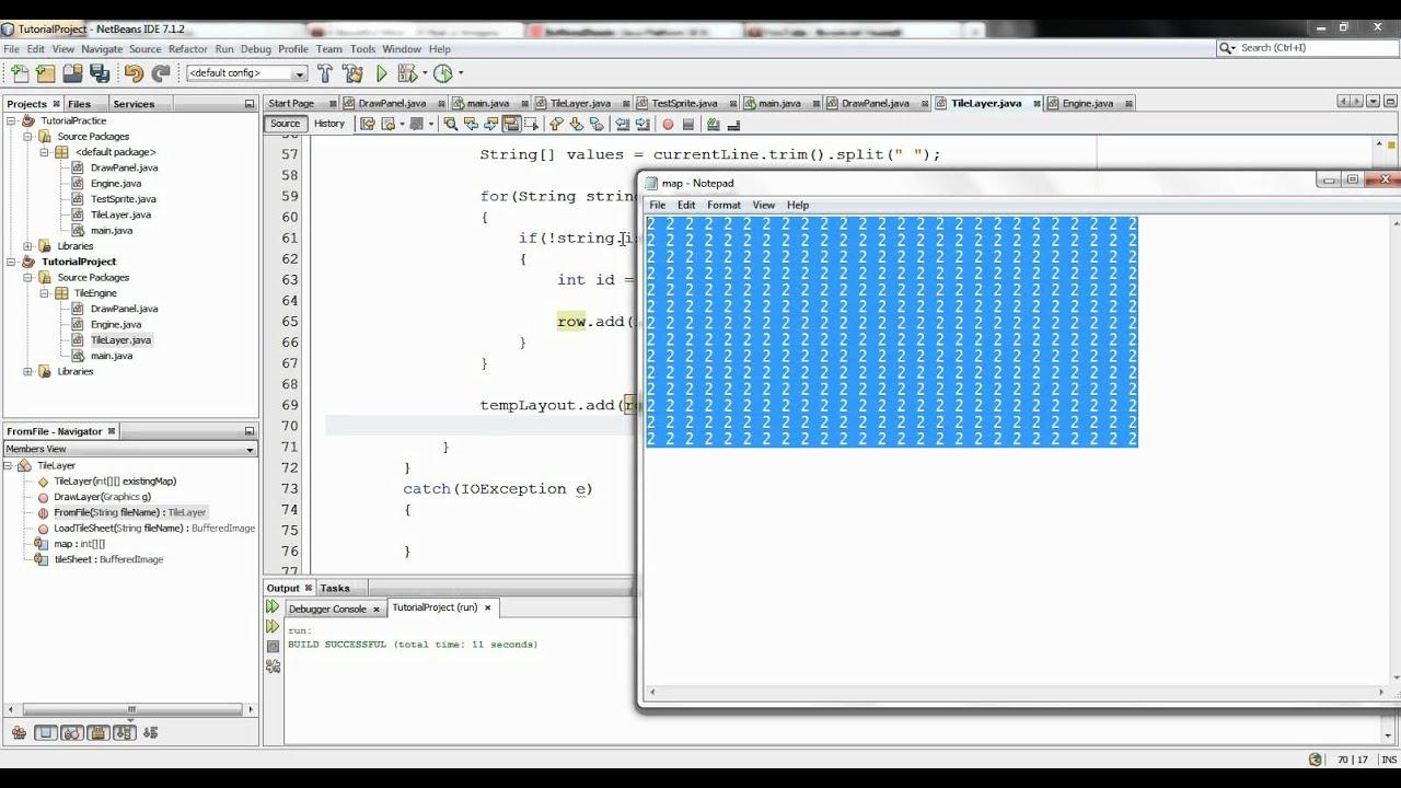 Java 2d tile engine basics loading map from text file youtube java 2d tile engine basics loading map from text file gumiabroncs Gallery