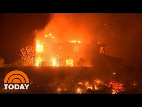 Dangerous California Wildfires Leave At Least 9 Dead | TODAY