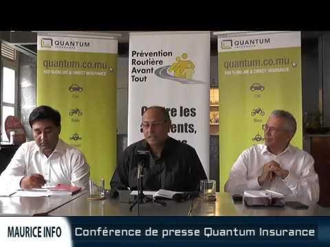 Conférence de presse Quantum Insurance