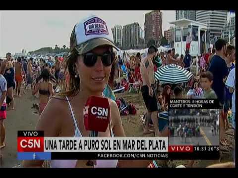 C5N - Verano 2017: Mar del Plata a puro sol