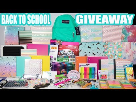 Biggest Back To School Giveaway EVER! Round Three!