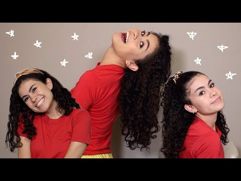 My CURLY hair routine! thumbnail