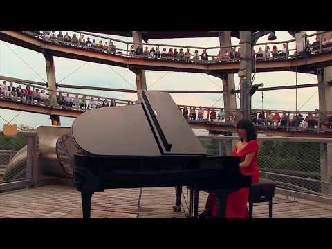 Luiza Borac Klavierkonzert auf dem Baumwipfelpfad - Rossini in Wildbad