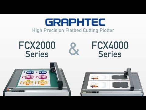 Graphtec FCX Düzmasa Kesici Plotterleri