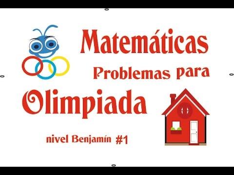 Problema #1-tipo olimpiada de matemáticas nivel Benjamín (casas)