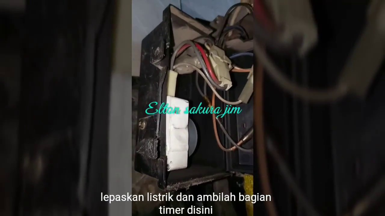 mitsubishi wiring diagram on cara mengganti timer kulkas 2pintu how to replace the 2 door  [ 1280 x 720 Pixel ]