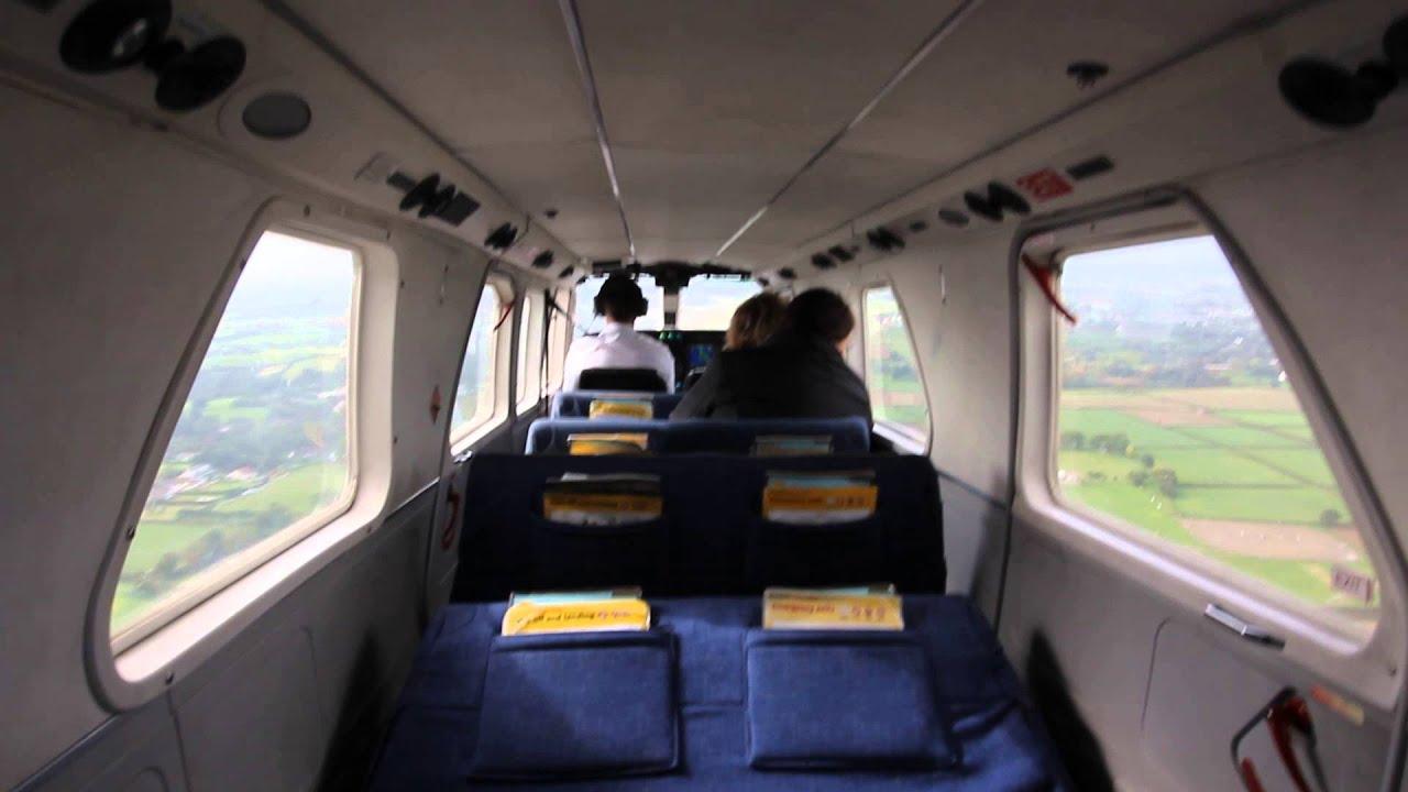 Britten Norman Trislander landing in Guernsey