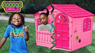 Oh No! My Playhouse! (Learn to Spell Tool with Goo Goo Girlz)