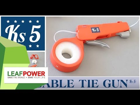 Ks5® The Cable Tie Gun - New Professional System