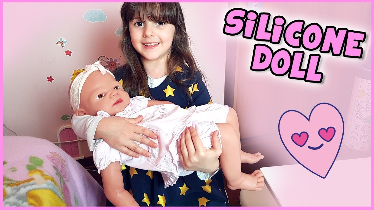 Full Silicone baby doll (Vollence) - YouTube