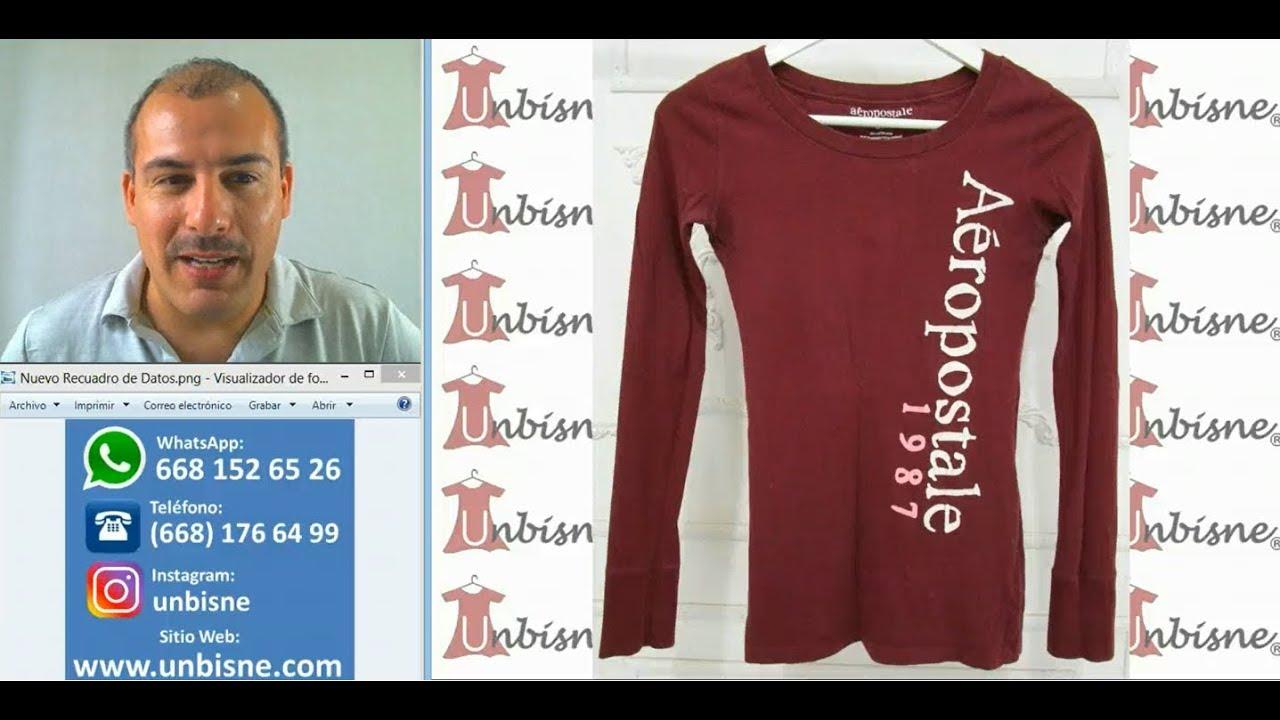 71b98d47ff0 ¡Mira esta ropa americana nueva y premium de paca! UNBISNE Pacas de Ropa  con Catálogo