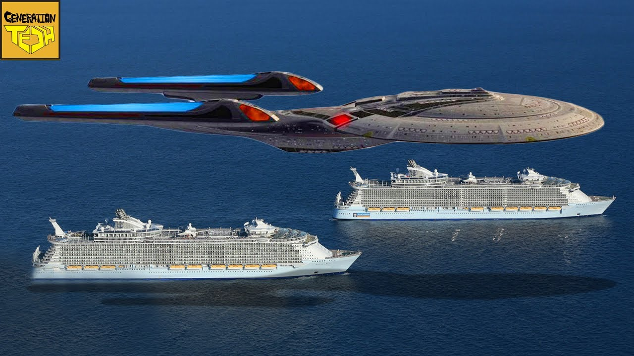 medium resolution of the real size of star trek ships pt 1 federation vessels