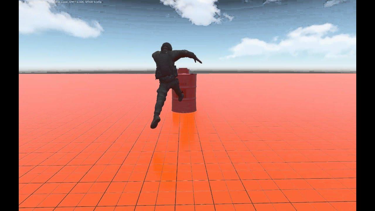 Unity 5 Physics Rag-doll Sandbox Funny