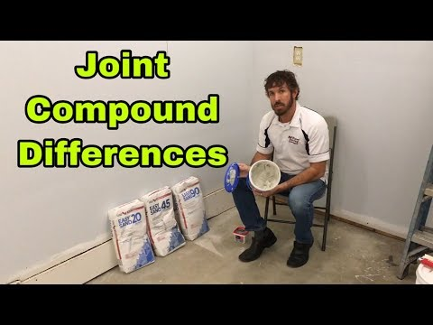 The Differences Between 20 45 And 90 Minute Quick Set Joint Compound Warsaw Syracuse And Goshen In Youtube