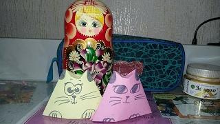 Кошка-матрёшка ( легко ) 🐱🐈
