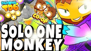 COOP | ONLY ONE MONKEY CHALLENGE | Bloons TD6 PL