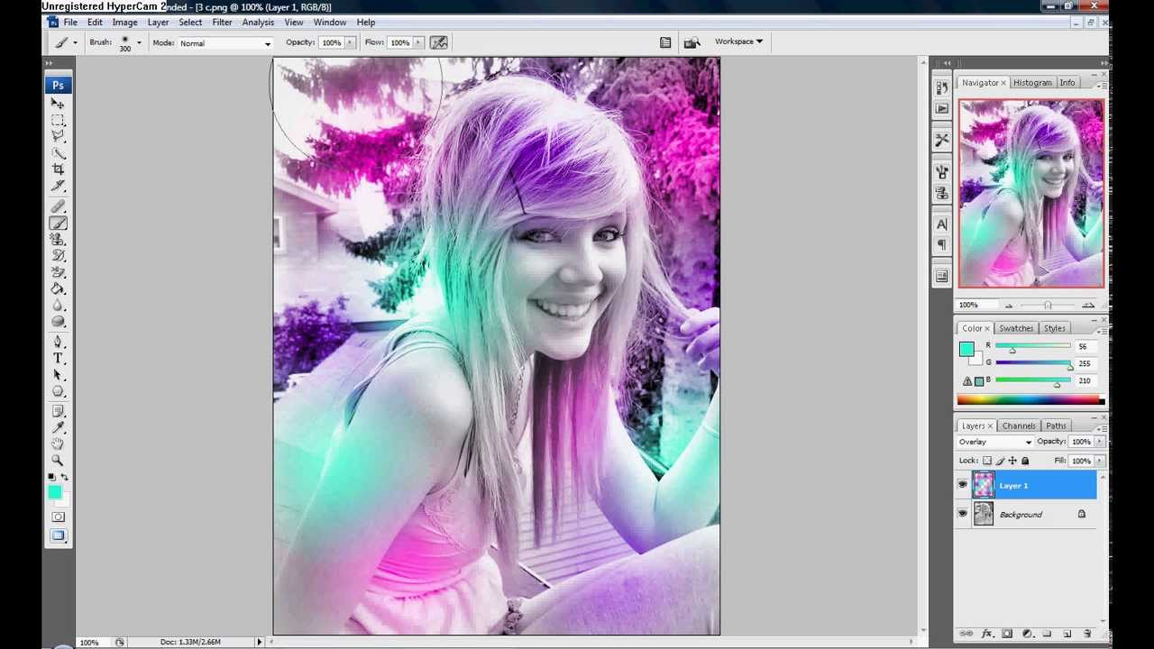 Orb Effect Tutorial on Photoshop CS3