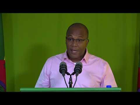 Oct. 18 - Press Briefing; Robert Tonge - Minister for Tourism & Urban Renewal