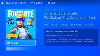 *QUICK* like GET THE NEW FREE PS PLUS PACK on FORTNITE! 😱 (pack ps plus fortnite 6)