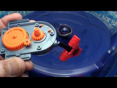 Beyblade How to remove the lock mechanism from the Rev Up Launcher. ベイブレード