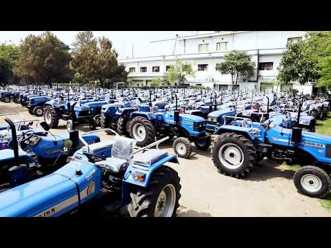 Inside the world's largest tractor manufacturing facility