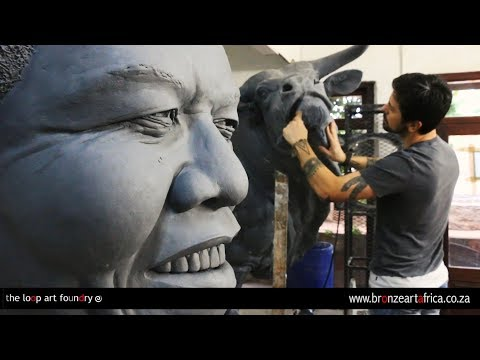 The Loop Art Foundry | Bronze Art Africa White River | Michael Canadas | Africa Travel channel
