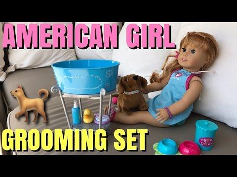 American Girl Dog Grooming Set - NEW