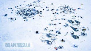 Душевная рыбалка Новогодний сбор рыбаков на Кольском Диалоги о рыбалке Палаточный город на озере