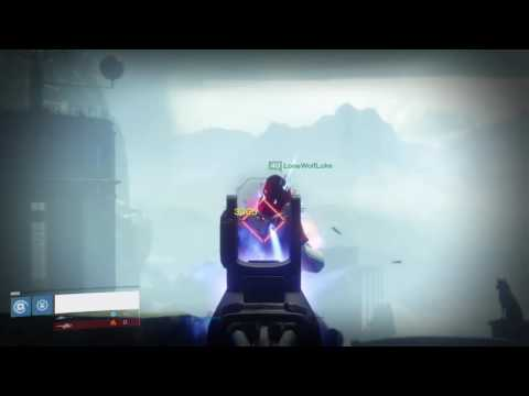 Demonstrating the Raid Scout Rifle - Destiny