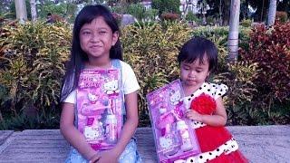 Taman Bermain 💖 Jessica Jenica Bermain Hello Kitty Bubble Gum 💖 Mainan Anak Lets Play