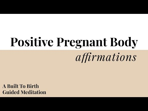 How you can Create and employ Positive Pregnancy Affirmations